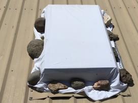 my skylight ready for summer